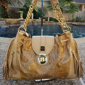 💲Sold💲Sharif Gold Shoulderbag